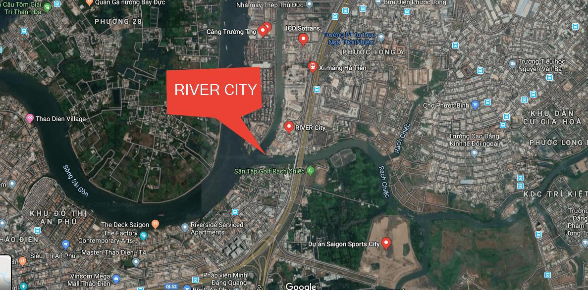 vi tri river city thu duc - DỰ ÁN RIVER CITY THỦ ĐỨC - KHU ĐÔ THỊ VICEM HÀ TIÊN