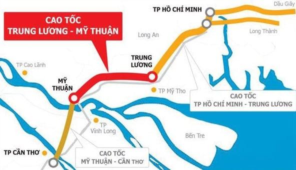 Dự án cao tốc Mỹ Thuận - Cần Thơ