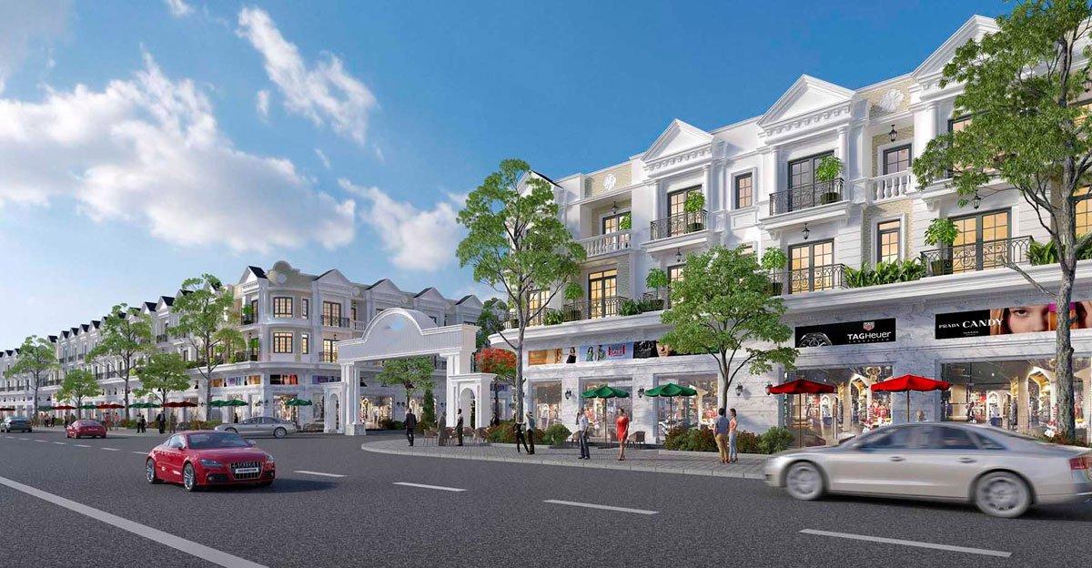 Phối cảnh dự án đất nền Thuận Hòa Lucky Home Đồng Xoài Bình Phước