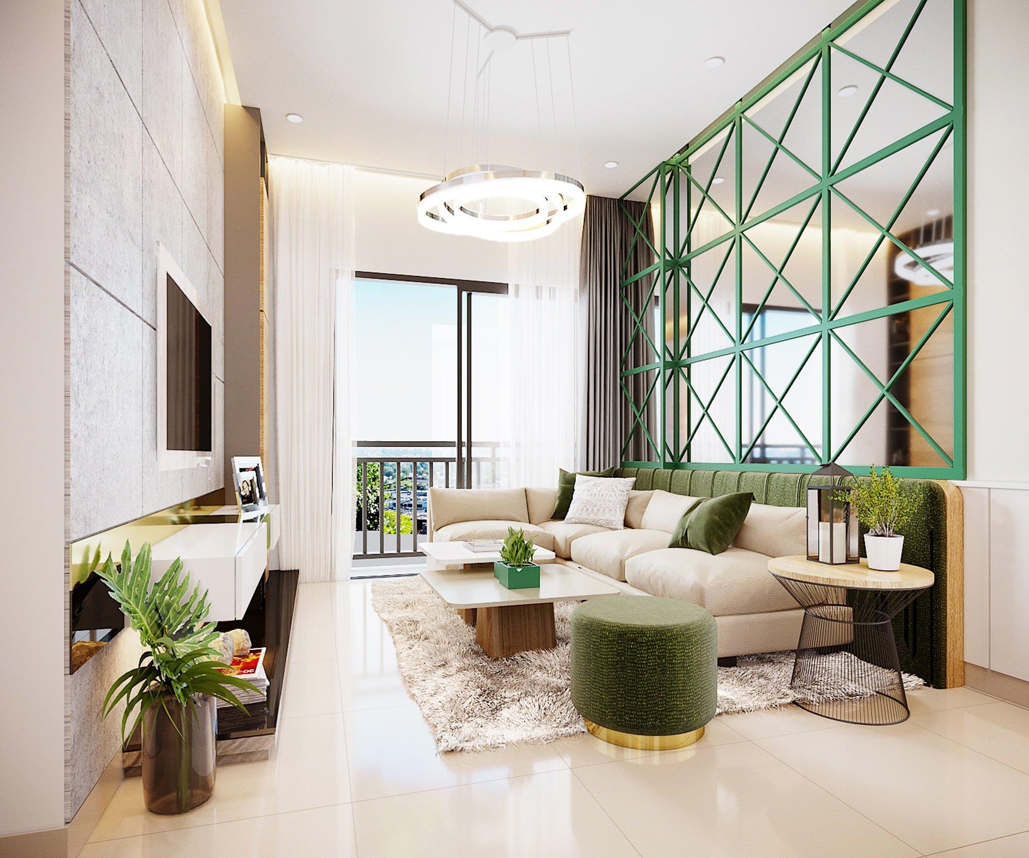 Thiết kế căn hộ Đại Học Quốc Gia TPHCM