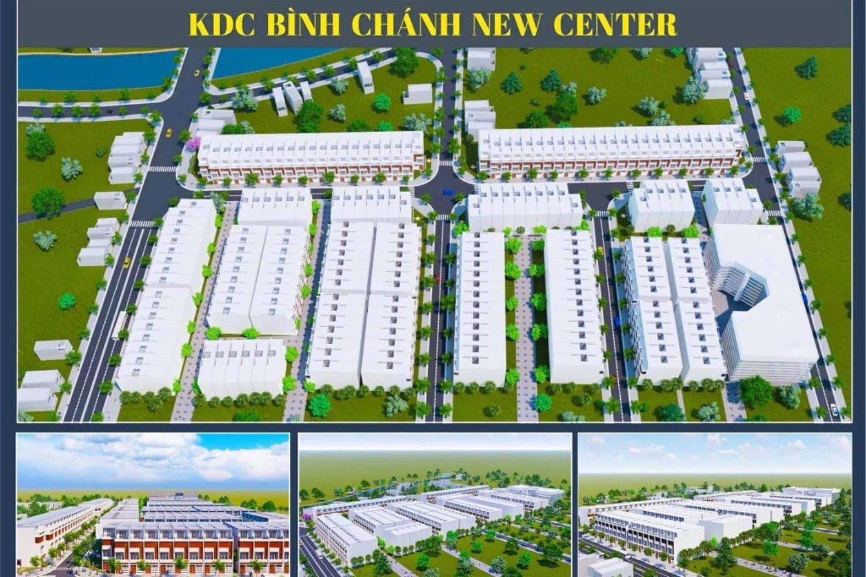 Phối cảnh dự án đất nền khu dân cư Bình Chánh New Center