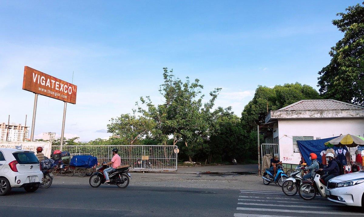 Vị trí khu đô thị Green Park Estate quận Tân Phú