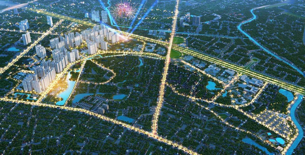 Phối cảnh dự án khu đô thị Vinhomes Hóc Môn