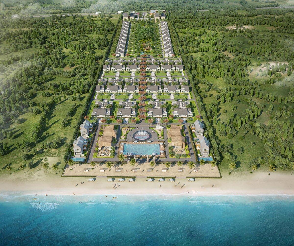 phoi canh du an biet thu perolas villas resort - DỰ ÁN BIỆT THỰ PÉROLAS VILLAS RESORT MŨI KÊ GÀ BÌNH THUẬN