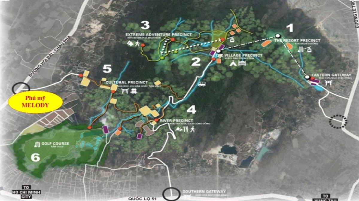 Map - Vị trí dự án