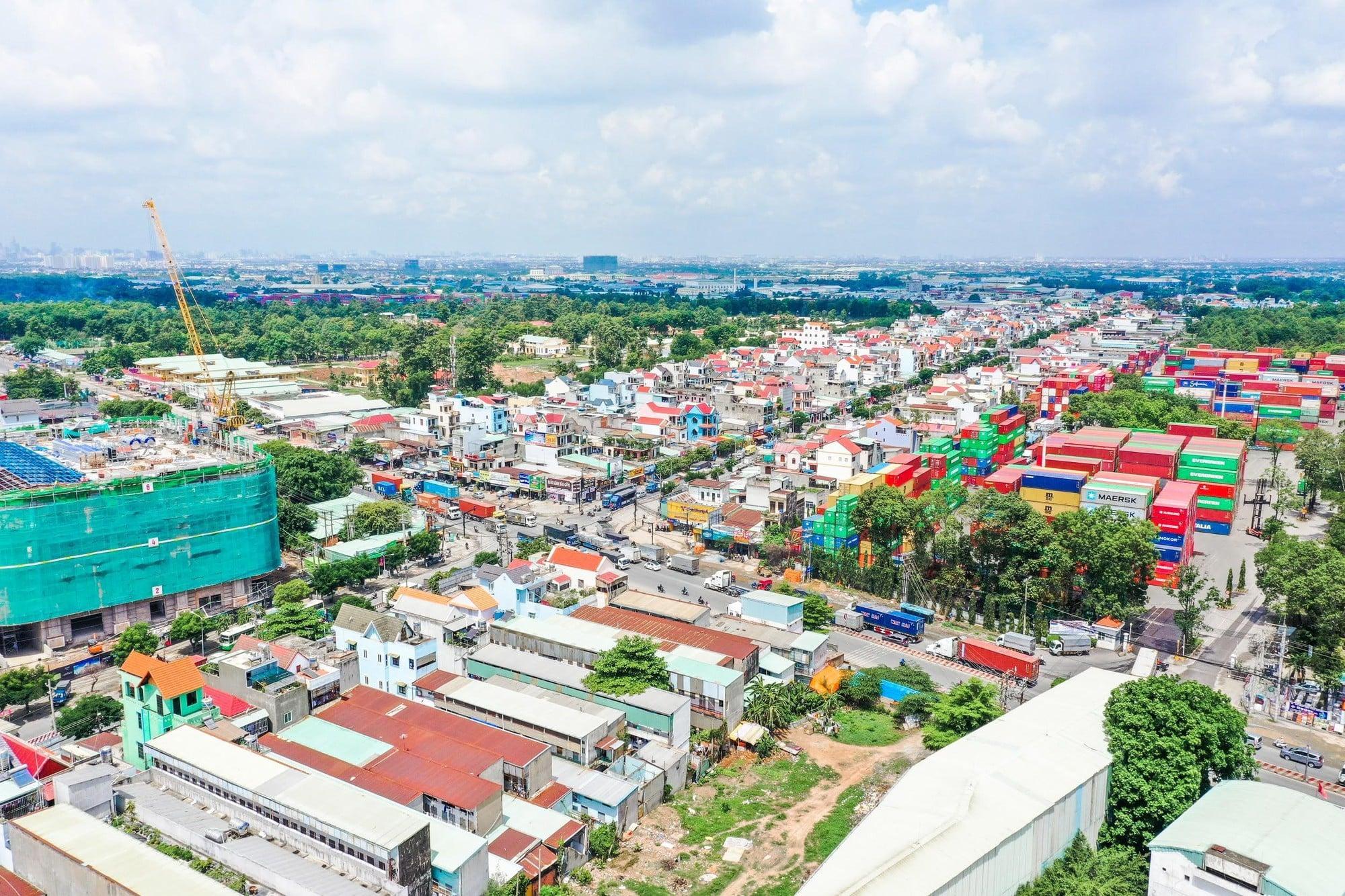 ha tang thuan an binh duong - Thị trường bất động sản sôi động khi Thuận An lên thành phố