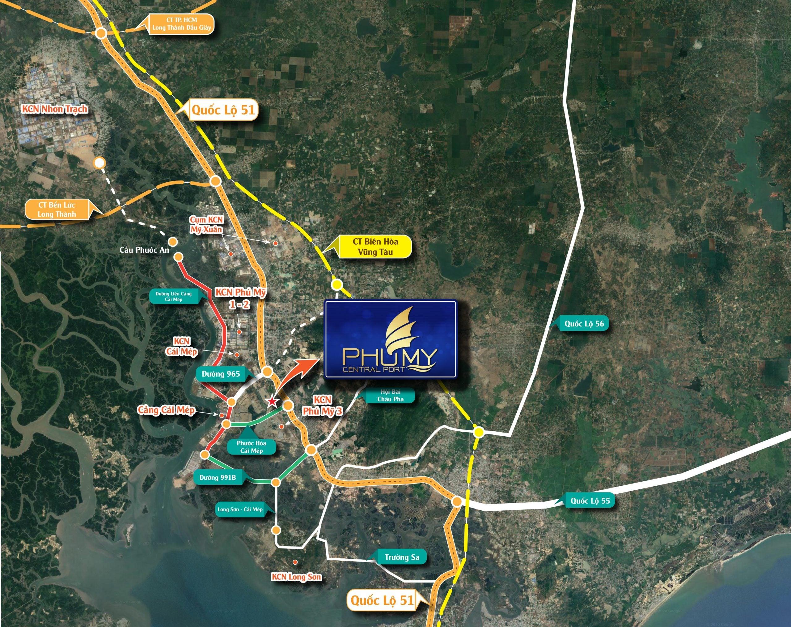 Tiềm năng phát triển bất động sản Phú Mỹ Bà Rịa