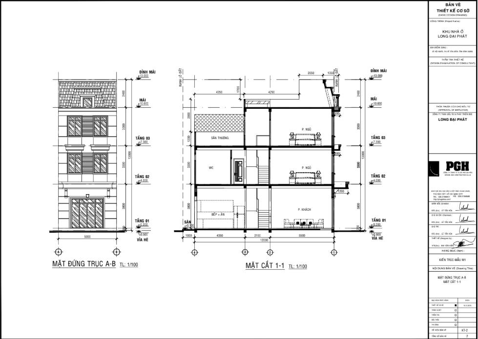Thiết kế nhà phố Đại Phát Mall Town Tân Uyên Bình Phước