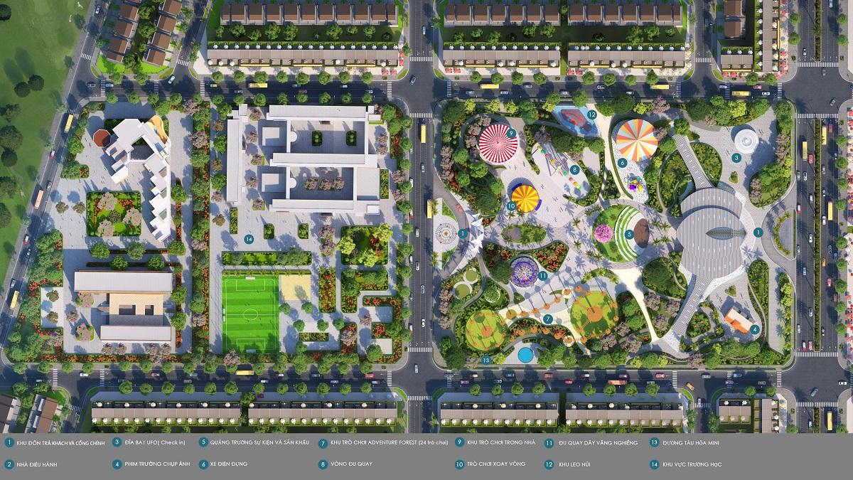 Công viên trung tâm Gem Sky World 1 - GEM SKY WORLD