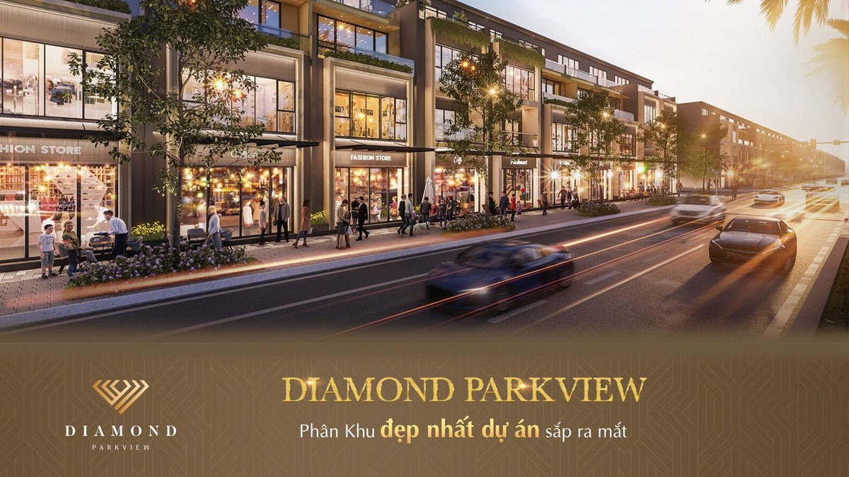 Mở bán phân khu Diamond Parkview