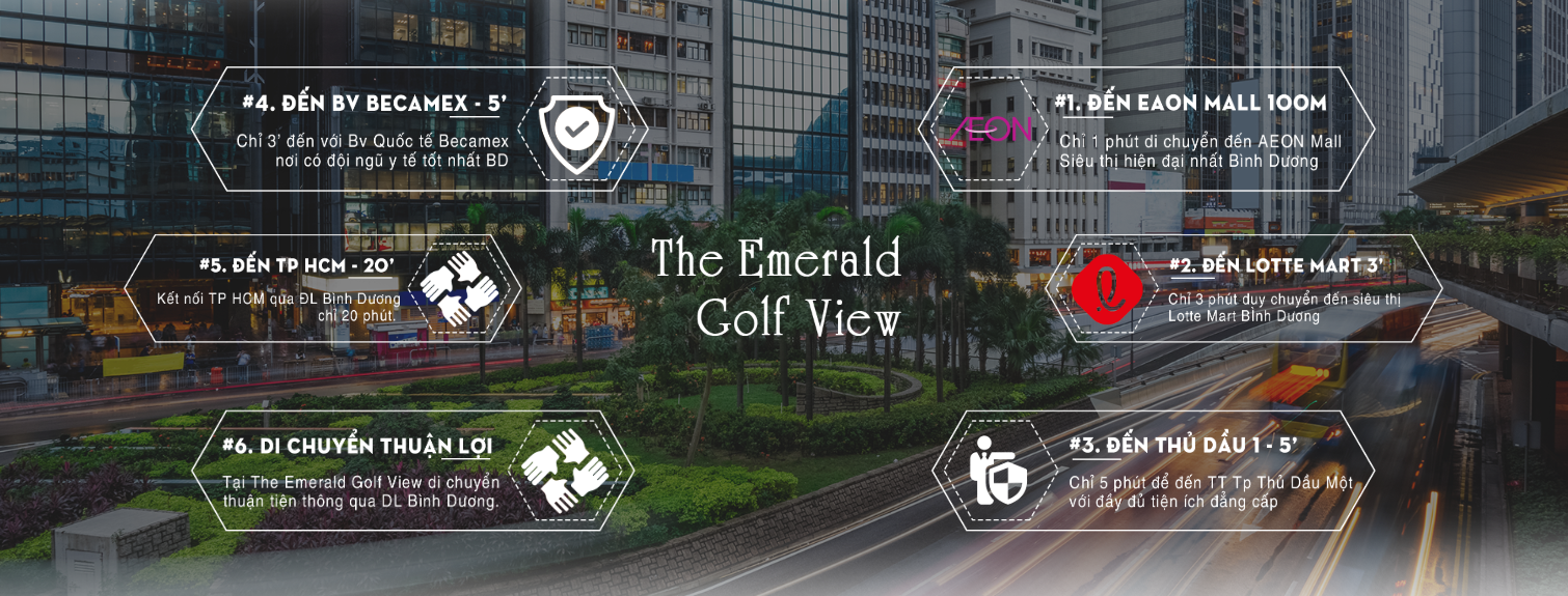 du an emerald golf view - THE EMERALD GOLF VIEW