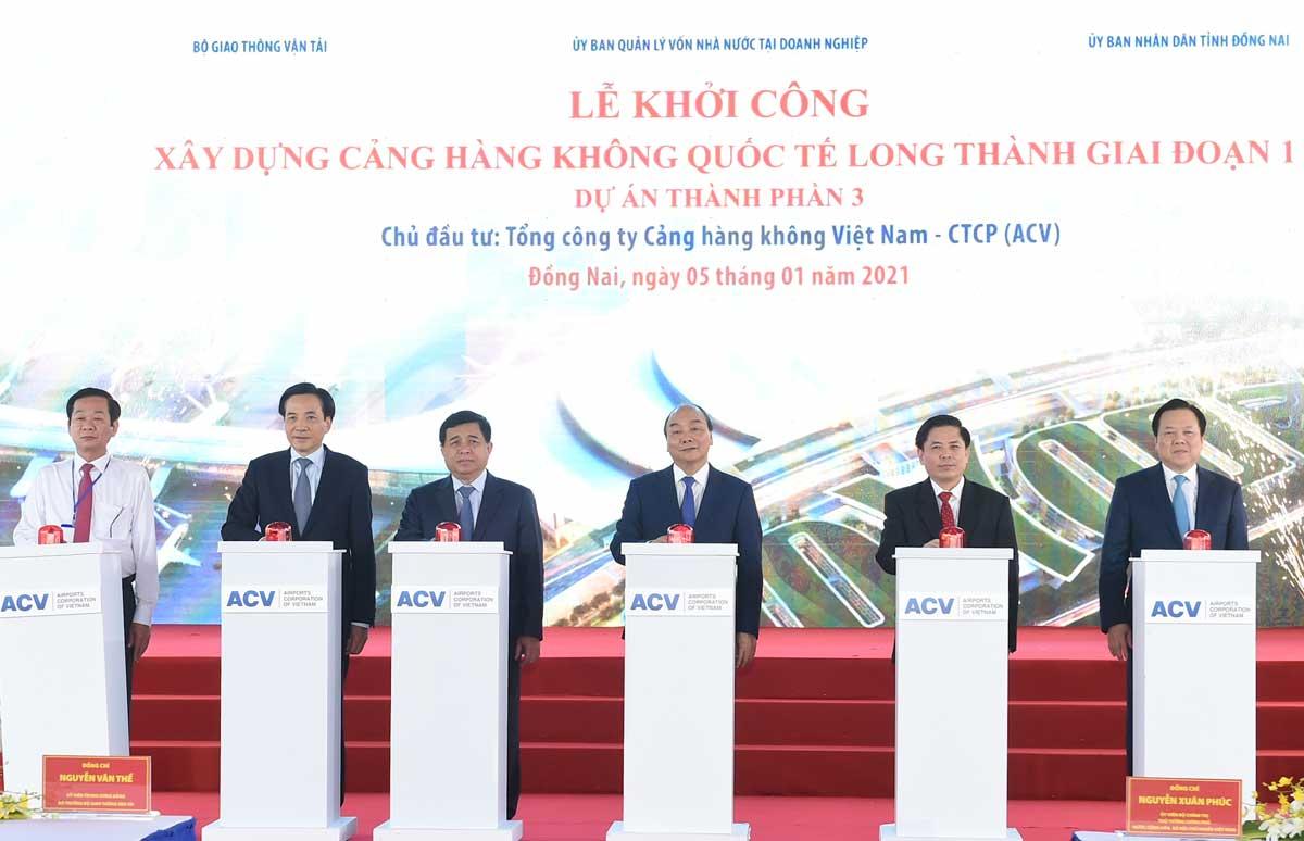 Sự kiện khởi công sân bay Long Thành