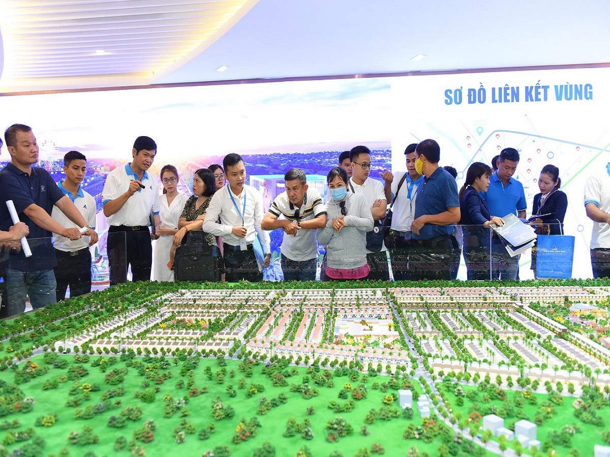 Sa bàn dự án khu đô thị Gem Sky World Long Thành