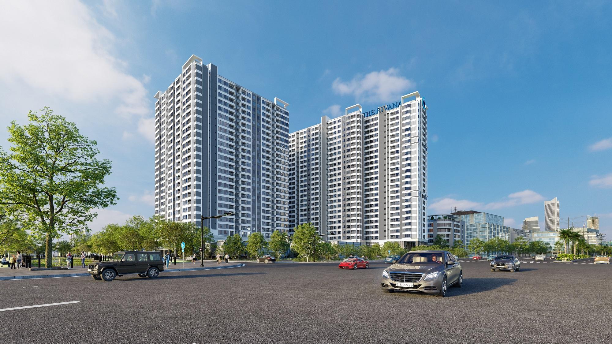 Dự án căn hộ The Rivana Đất Xanh Bình Dương, Quốc lộ 13, Thuận An