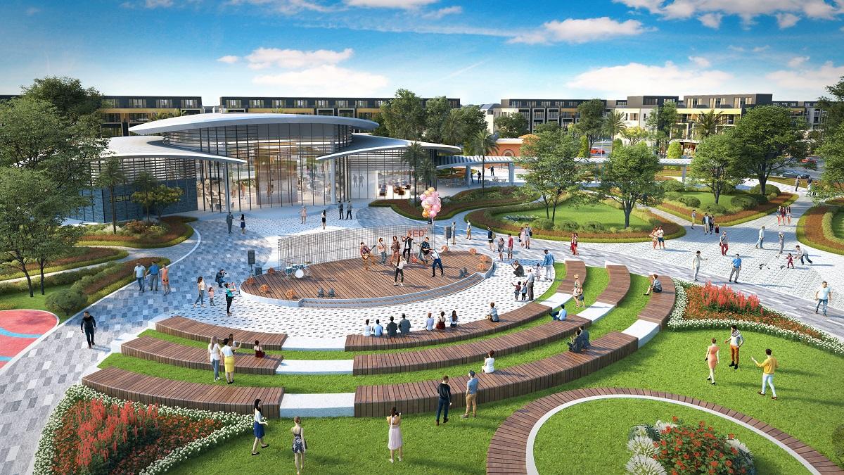 Quảng trường công viên trung tâm Gem Sky World