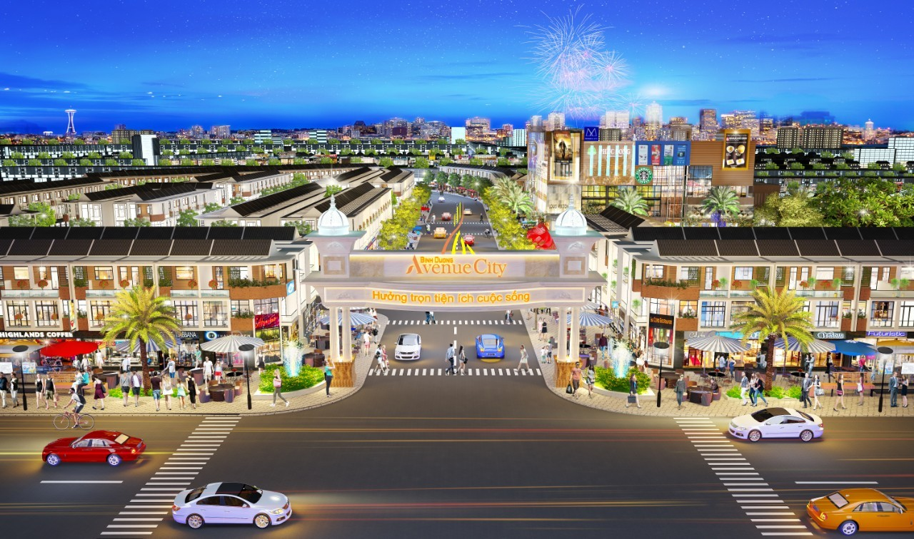 Dự án Bình Dương Avenue City - BÌNH DƯƠNG AVENUE CITY