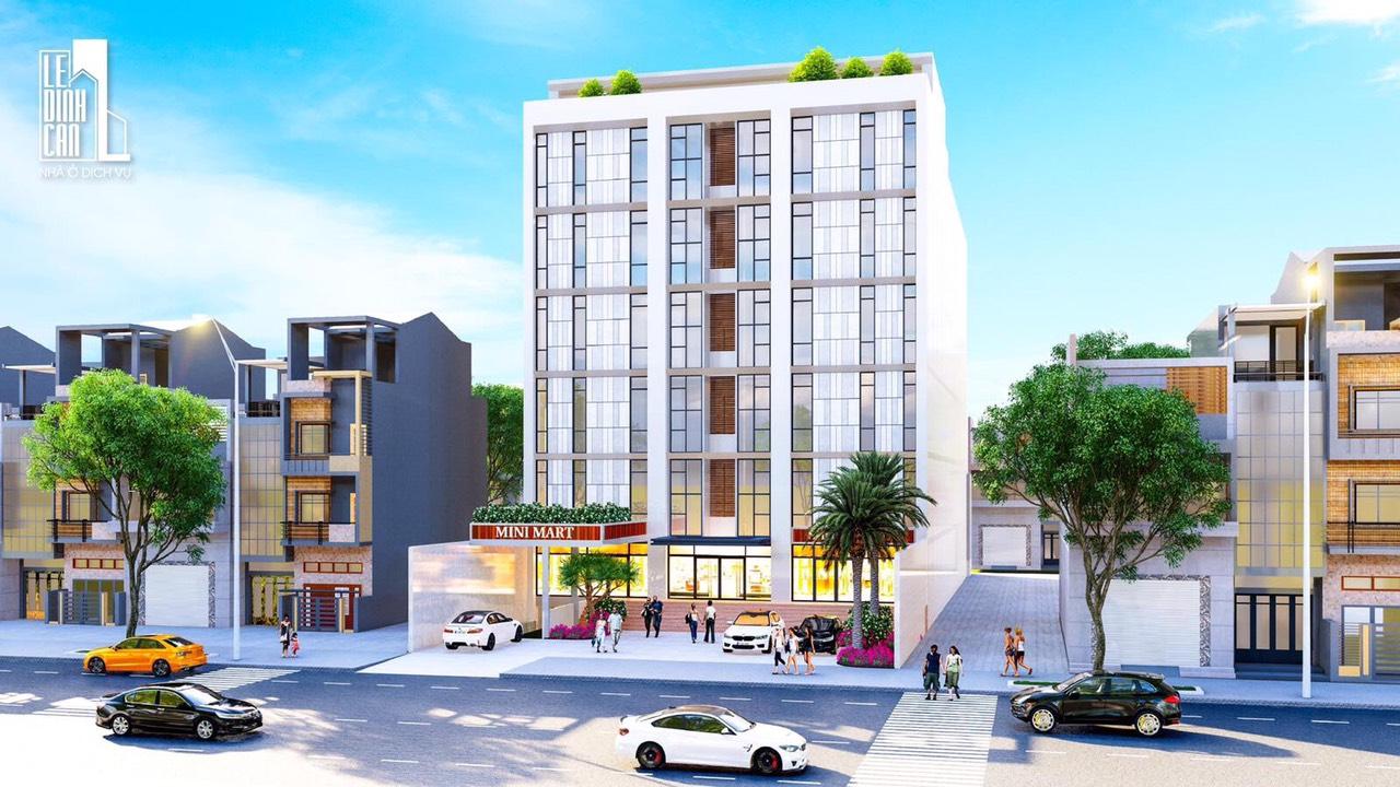 Dự án căn hộ dịch vụ Lê Đình Cẩn quận Bình Tân - Khu nhà ở dịch vụ Lê Đình Cẩn Quận Bình Tân