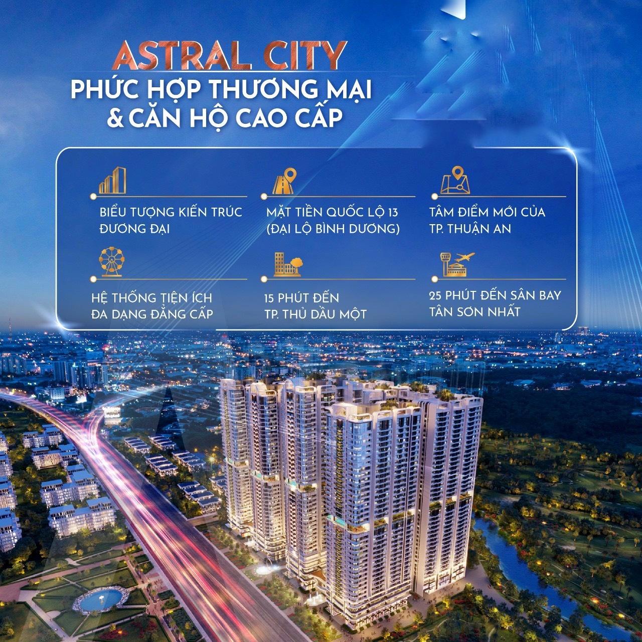 dự án căn hộ Astral City Phát Đạt Thuân An Bình Dương - ASTRAL CITY