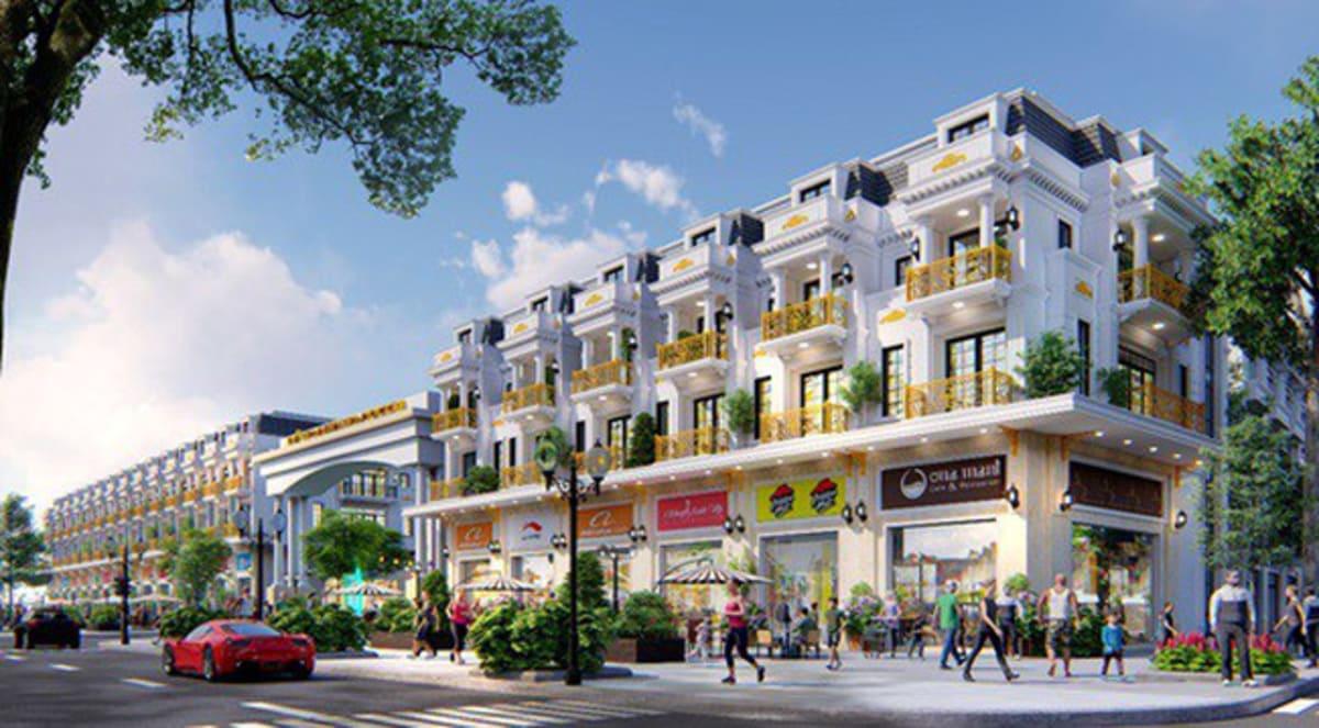 Phối cảnh dự án nhà phố Rolanno Star Bình Tân