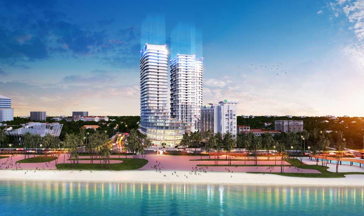 Phối cảnh dự án DIC CSJ Tower Vũng Tàu - DIC CSJ TOWER