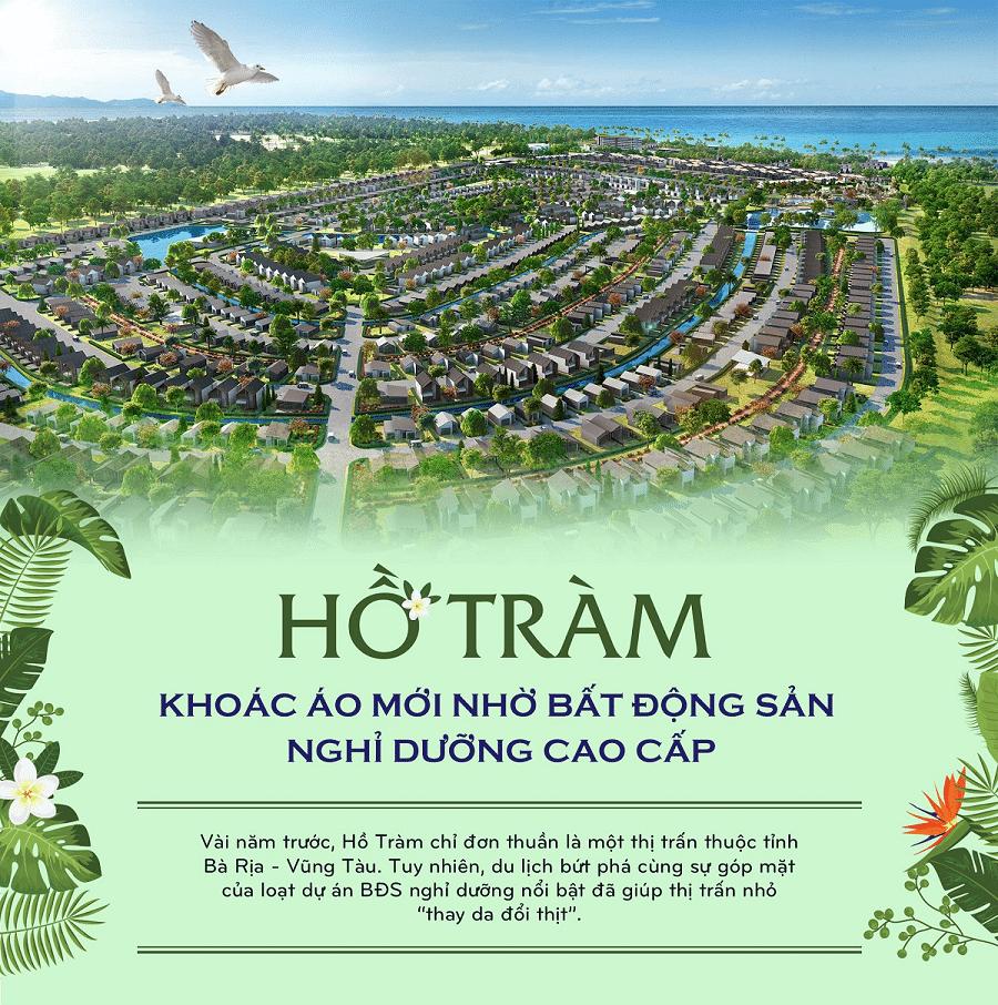 Dự án Charm Hồ Tràm Resort