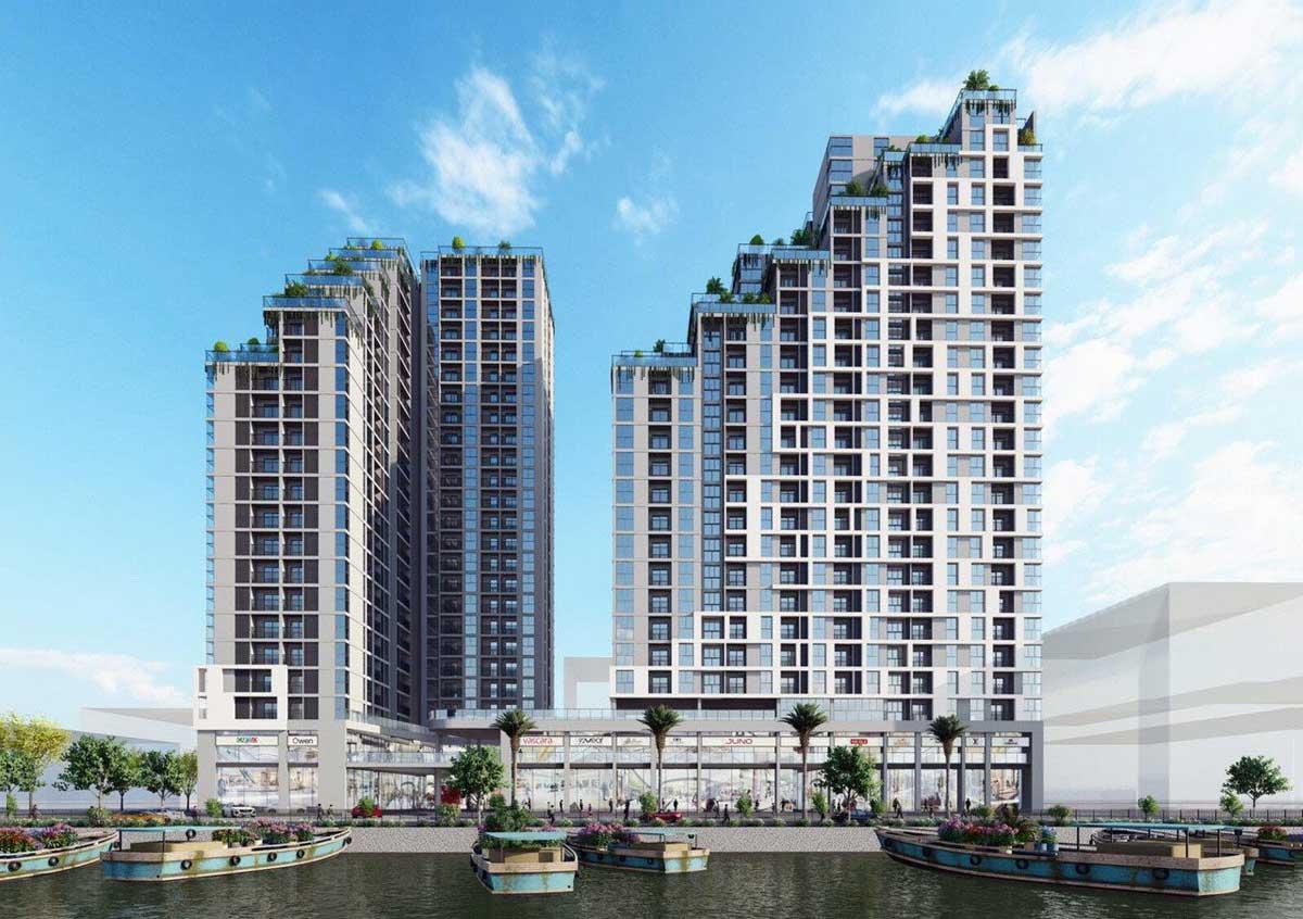 Dự án căn hộ chung cư D - Aqua Bến Bình Đông Quận 8