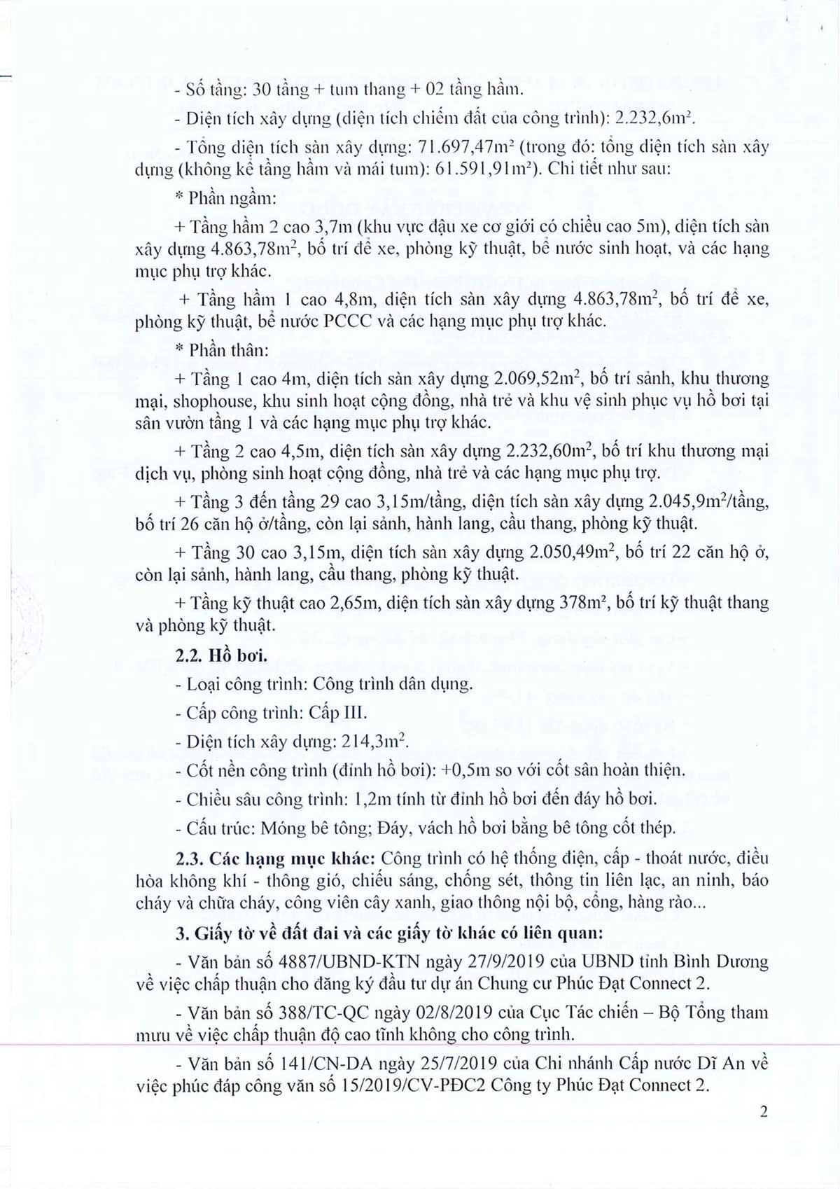 Pháp lý dự án căn hộ chung cư Phúc Đạt Tower Đông Hòa Dĩ An