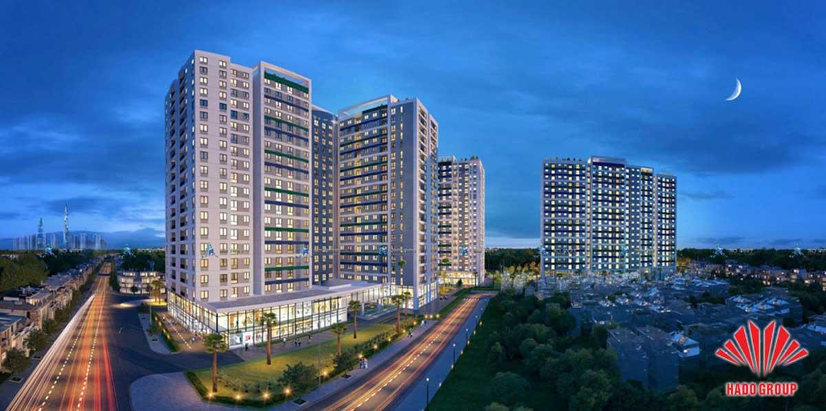 Phối cảnh dự án căn hộ chung cư Hà Đô Complex Phạm Văn Đồng Thành phố Thủ Đức