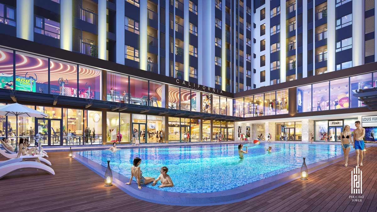 Tiện ích dự án căn hộ chung cư Phúc Đạt Tower Đông Hòa Dĩ An Bình Dương
