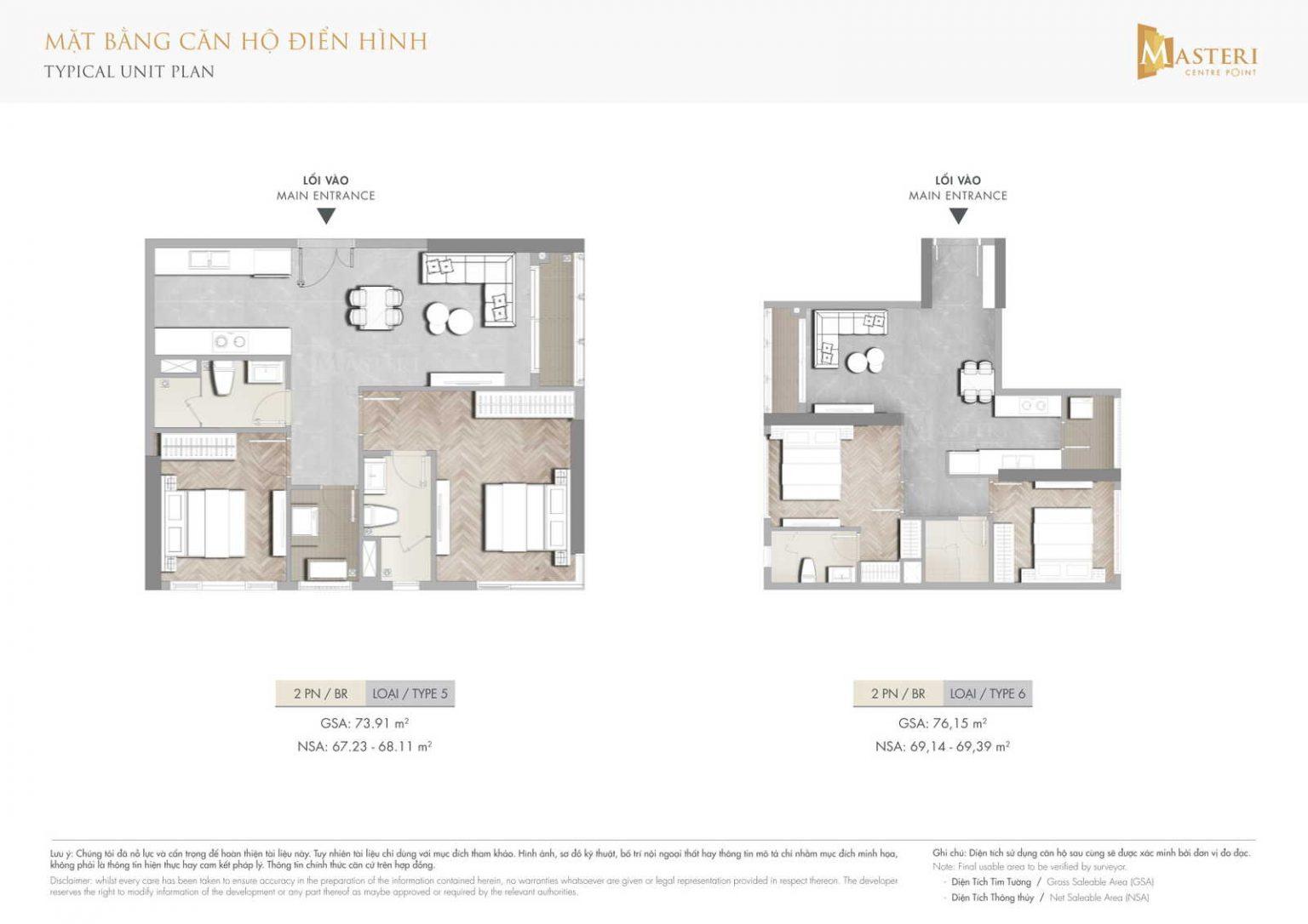layout can ho masteri centre point 5 - MASTERI CENTRE POINT