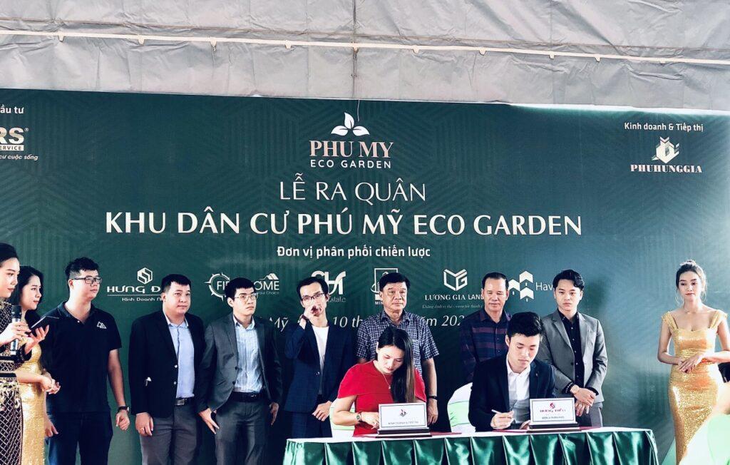 Lễ ra quânDự án đất nền khu dân cư sinh thái Phú Mỹ Eco Garden Châu Pha, Phú Mỹ, Bà Rịa - Vũng Tàu
