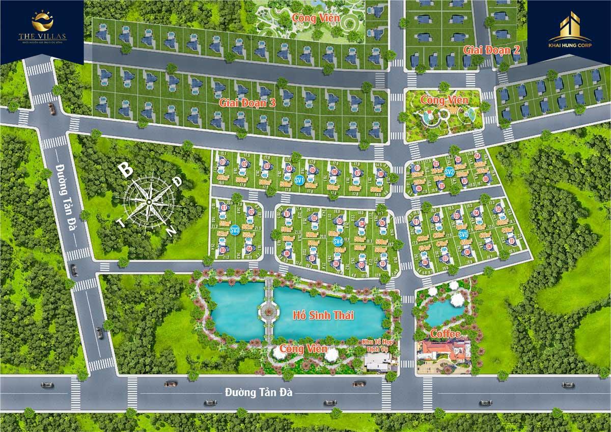 Mặt bằng Dự án đất nền Sun Valley Bảo Lộc, Lộc Quảng, Bảo Lâm, Lâm Đồng