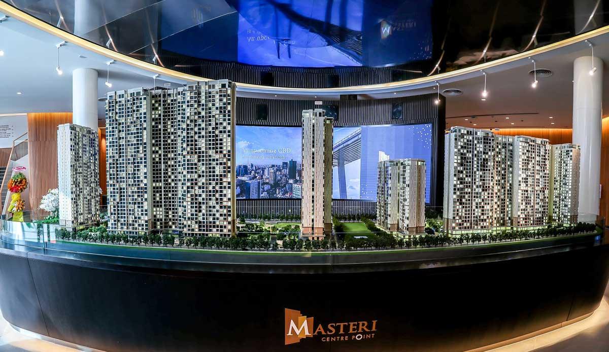 Nhà mẫu Dự án căn hộ chung cư Masteri Centre Point Quận 9, Masterise Home