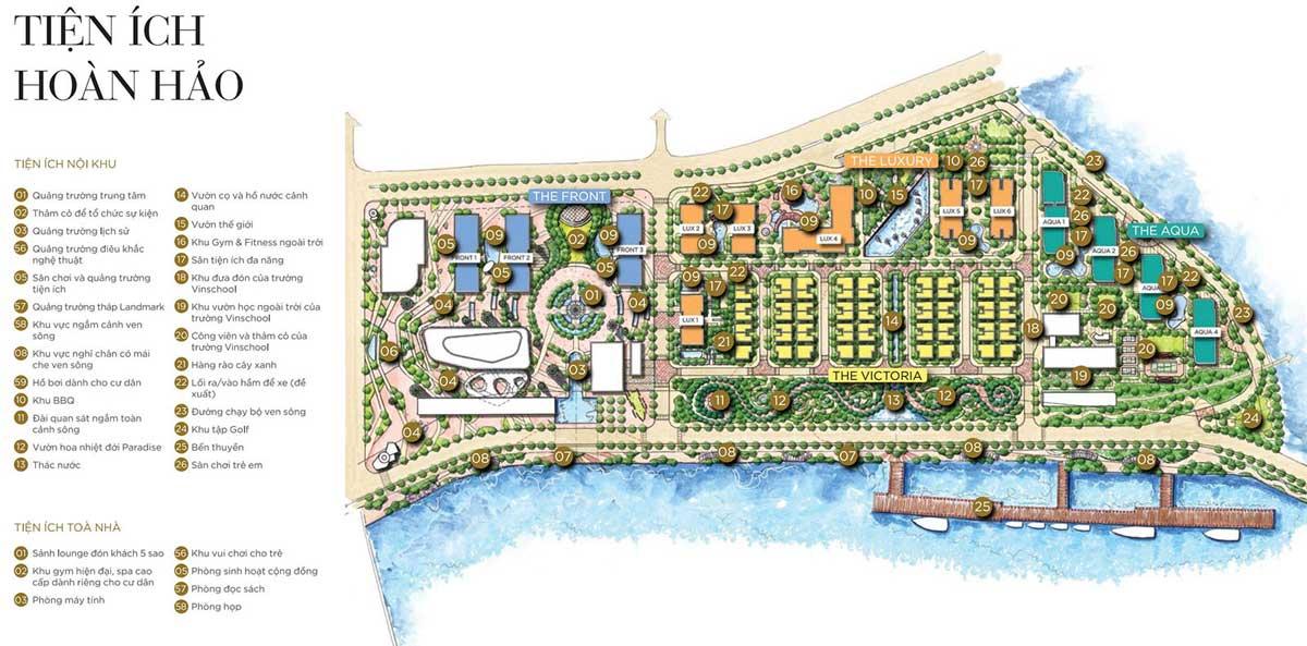 Tiện ích Dự án căn hộ Masterise Marina Onequận 1, Cảng Bason, Tôn Đức Thắng