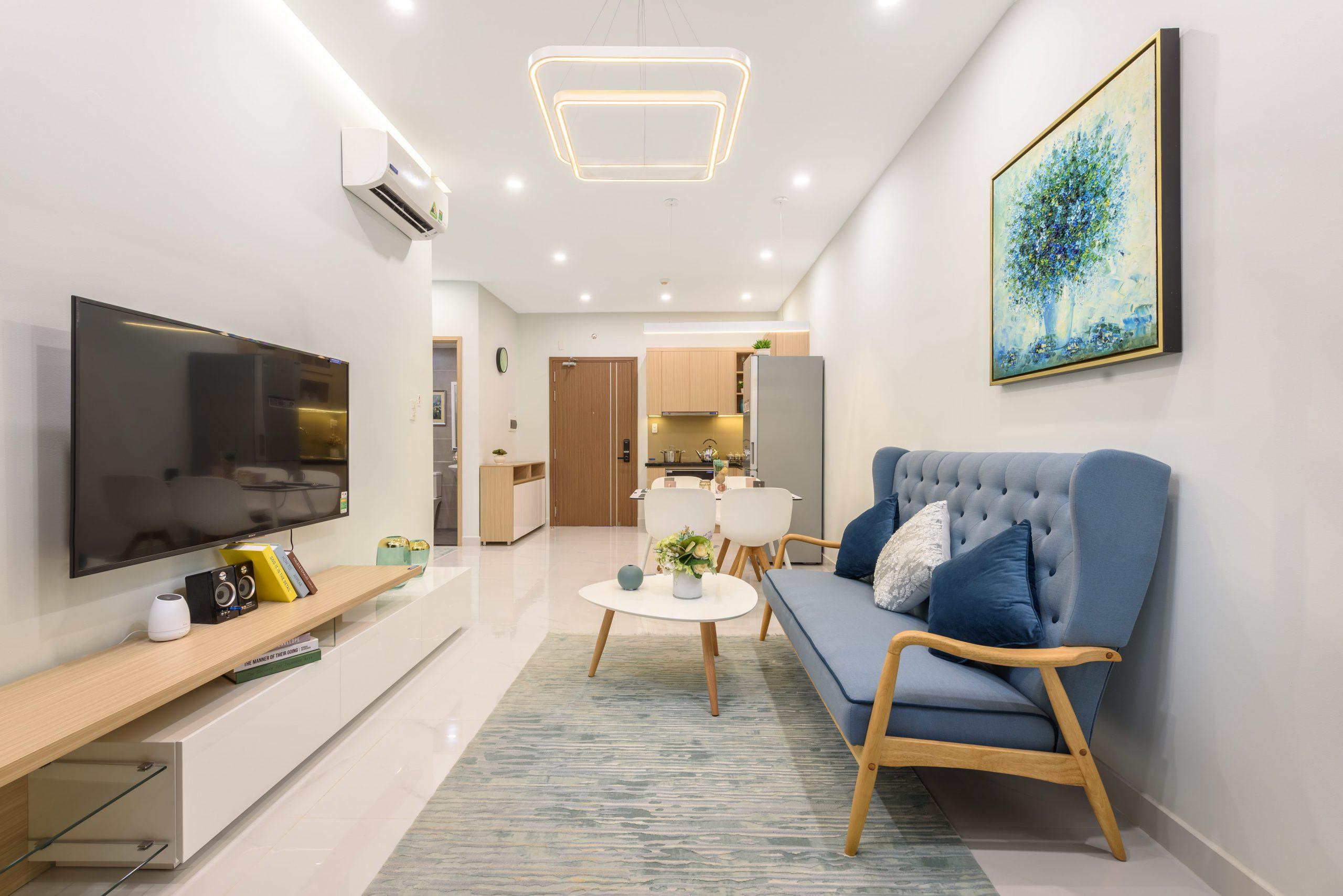 Thiết kế căn hộ The Rivana 2 phòng ngủ cực thông minh