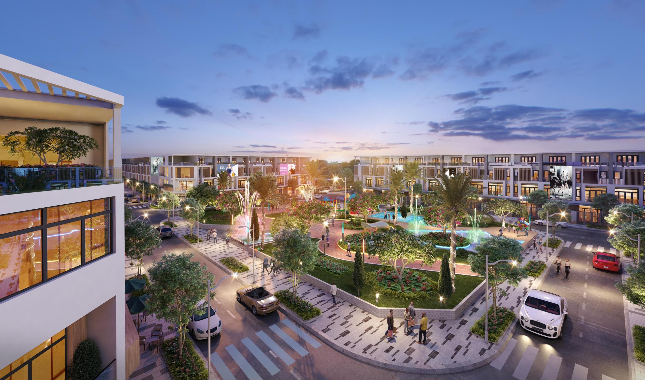 Công viên Dự án đất nền khu dân cư Prime City Bình Phước, Tân Phước, Đồng Phú