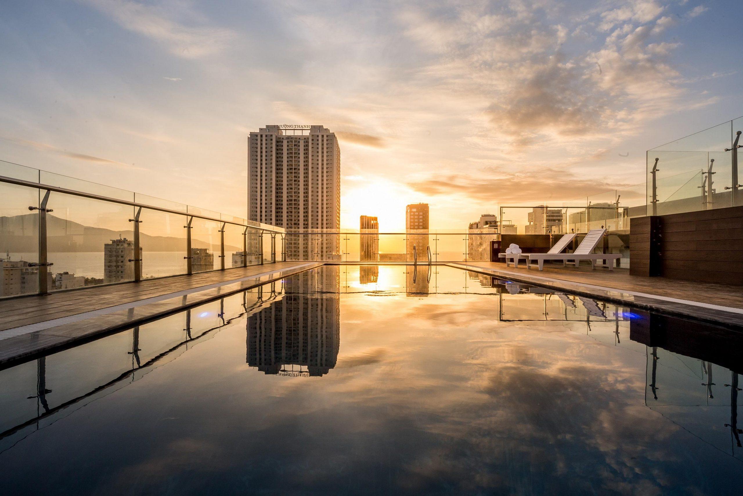 Hồ bơi Dự án căn hộ Hưng Thịnh Sunshine Đông Hòa, Dĩ An, Bình Dương