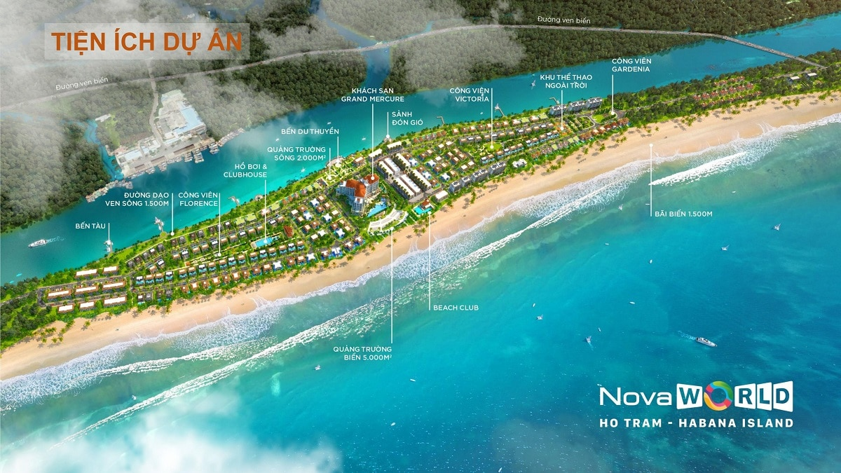 Habana Island Hồ Tràm thuộc khu đô thị Novaworld Hồ Tràm