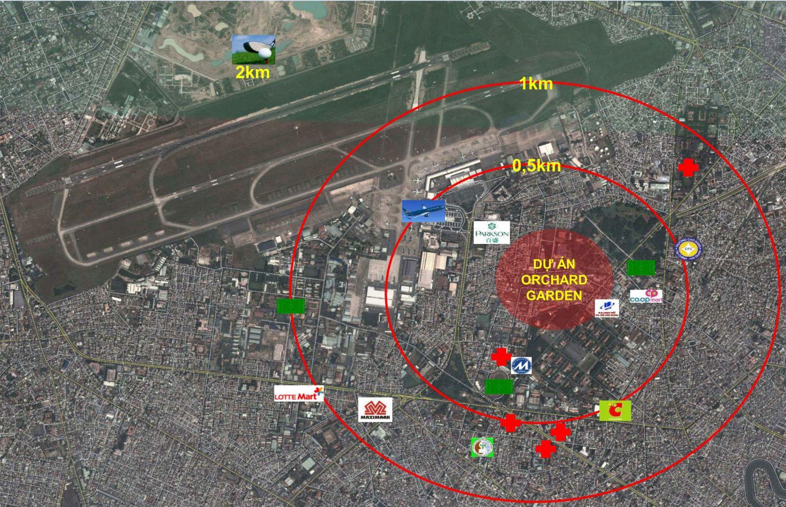 Dự án căn hộ Orchard Garden Novaland, Quận Phú Nhuận