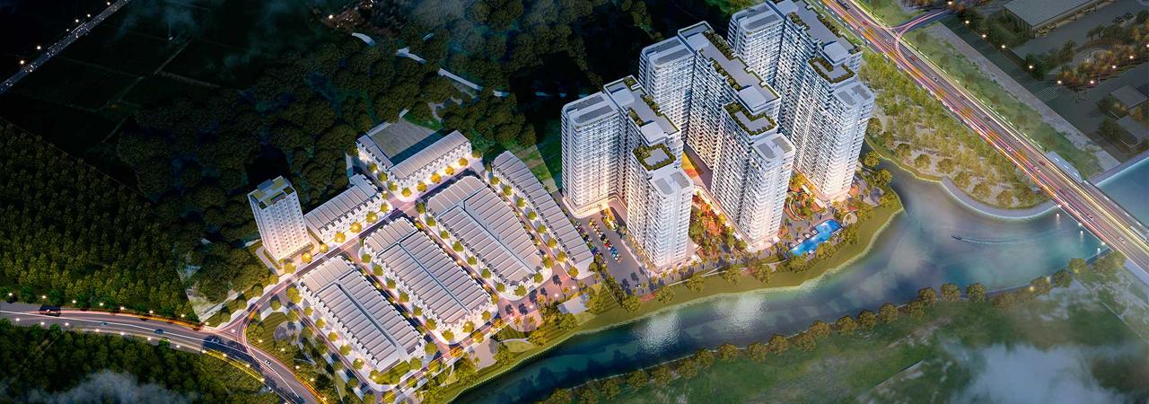 Dự án nhà phố căn hộ VietSing Phú Chánh Tân Uyên, Bình Dương