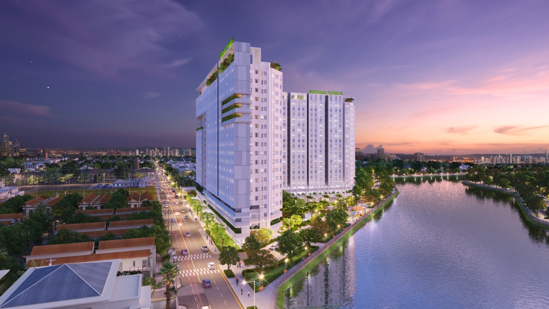 Dự án căn hộ chung cư Marina Tower Bình Dương, chủ đầu tư LDG