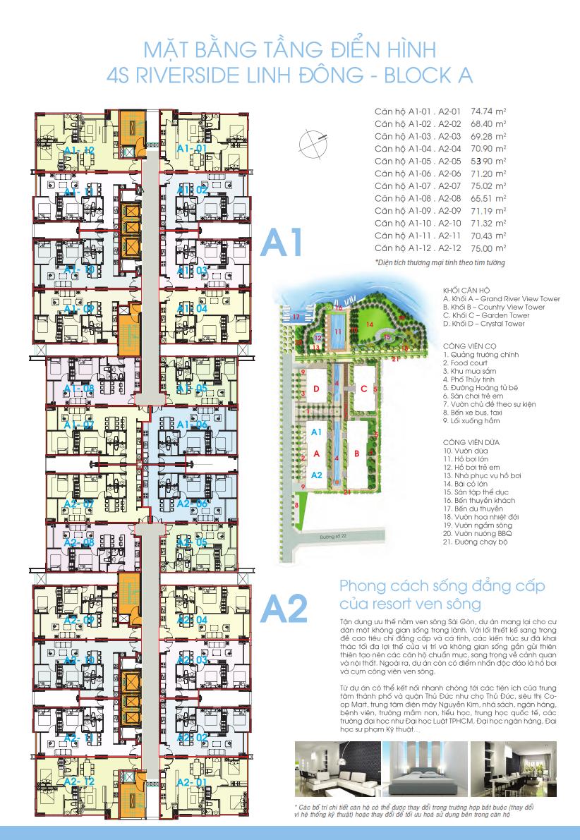 Dự án căn hộ chung cư 4S Linh Đông - Mua bán, chuyển nhượng, ký gửi