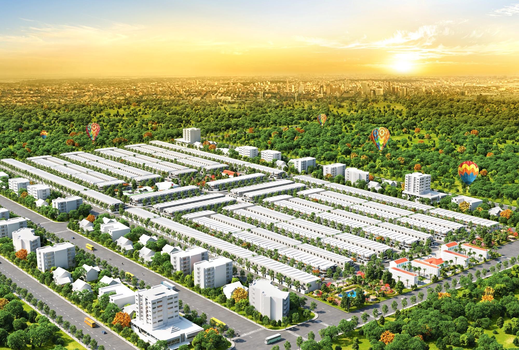 Dự án đất nền Nam An New City Bàu Bàng Bình Dương