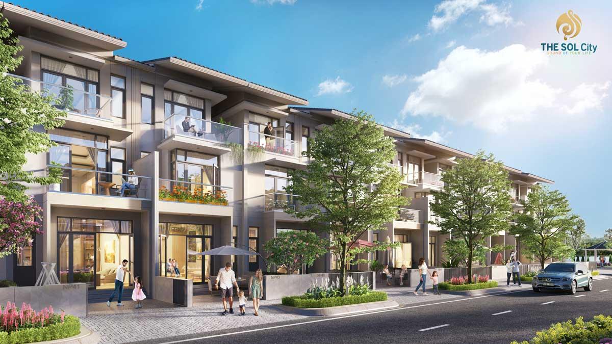 Dự án khu đô thị The Sol City Nam Sài Gòn, Cần Giuộc, Long An