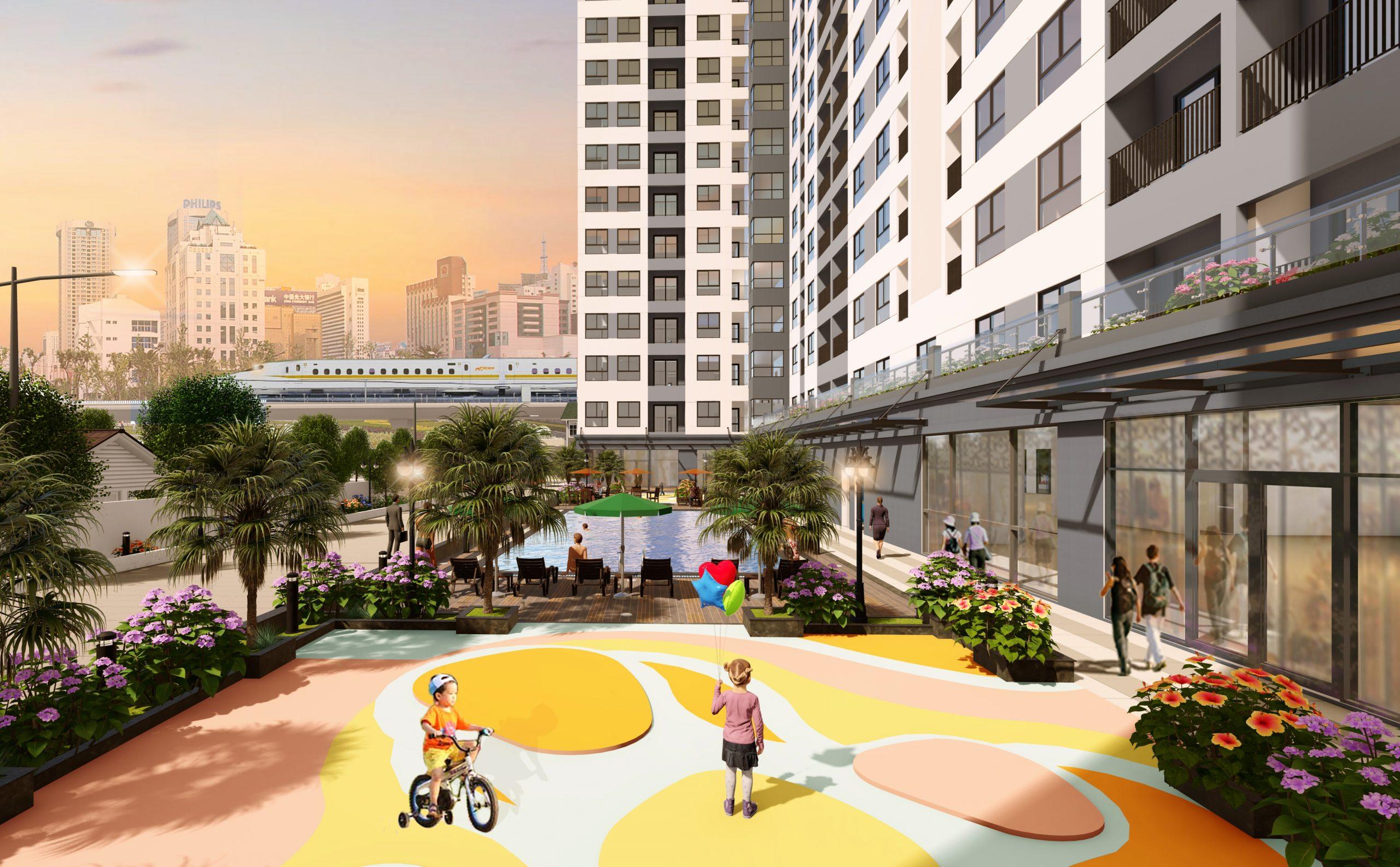 Dự án căn hộ chung cư Bcons Miền Đông, Đông Hòa, Dĩ An, Bình Dương
