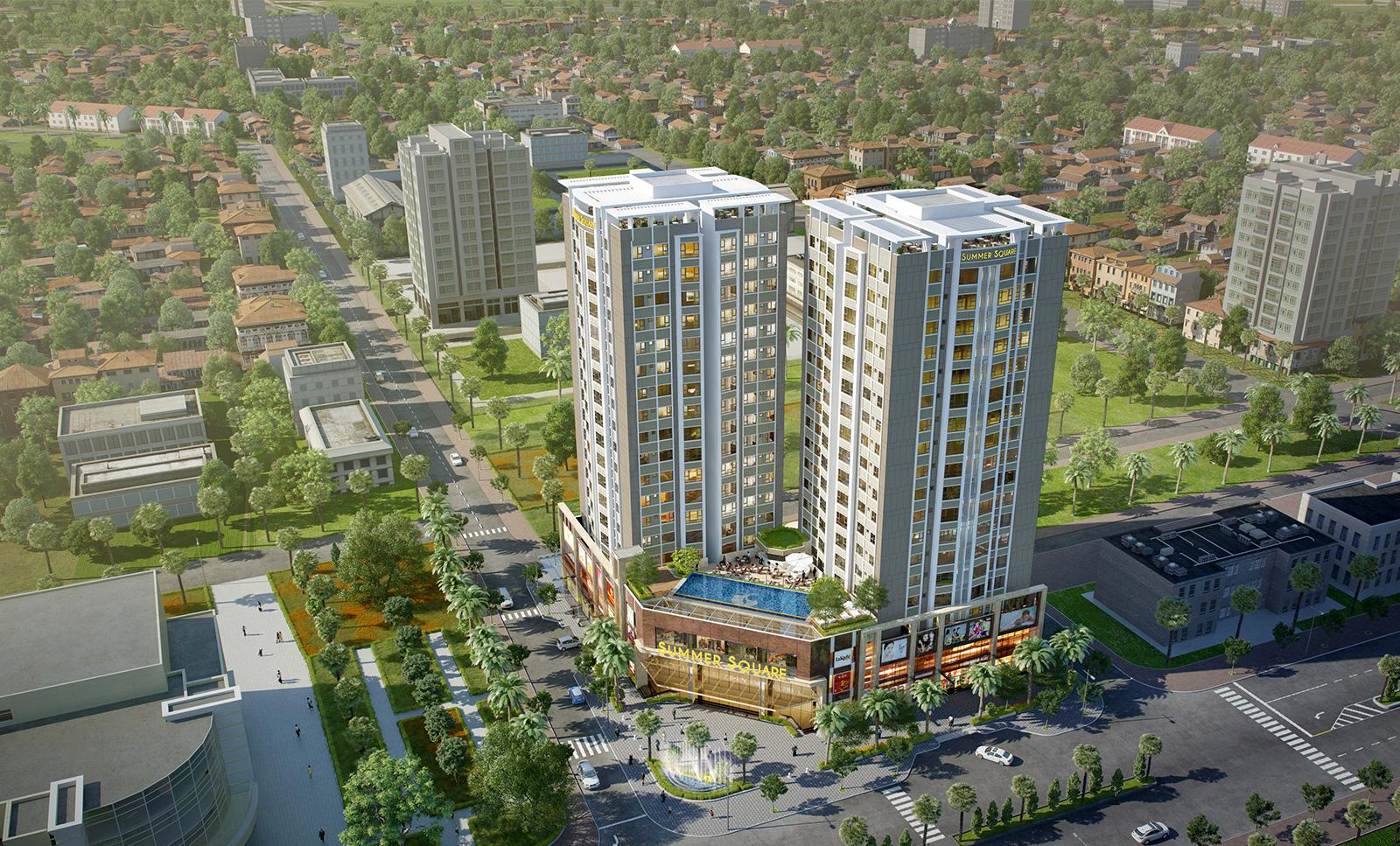 Dự án căn hộ Summer Square quận 6 - Mua bán Summer Square giá tốt