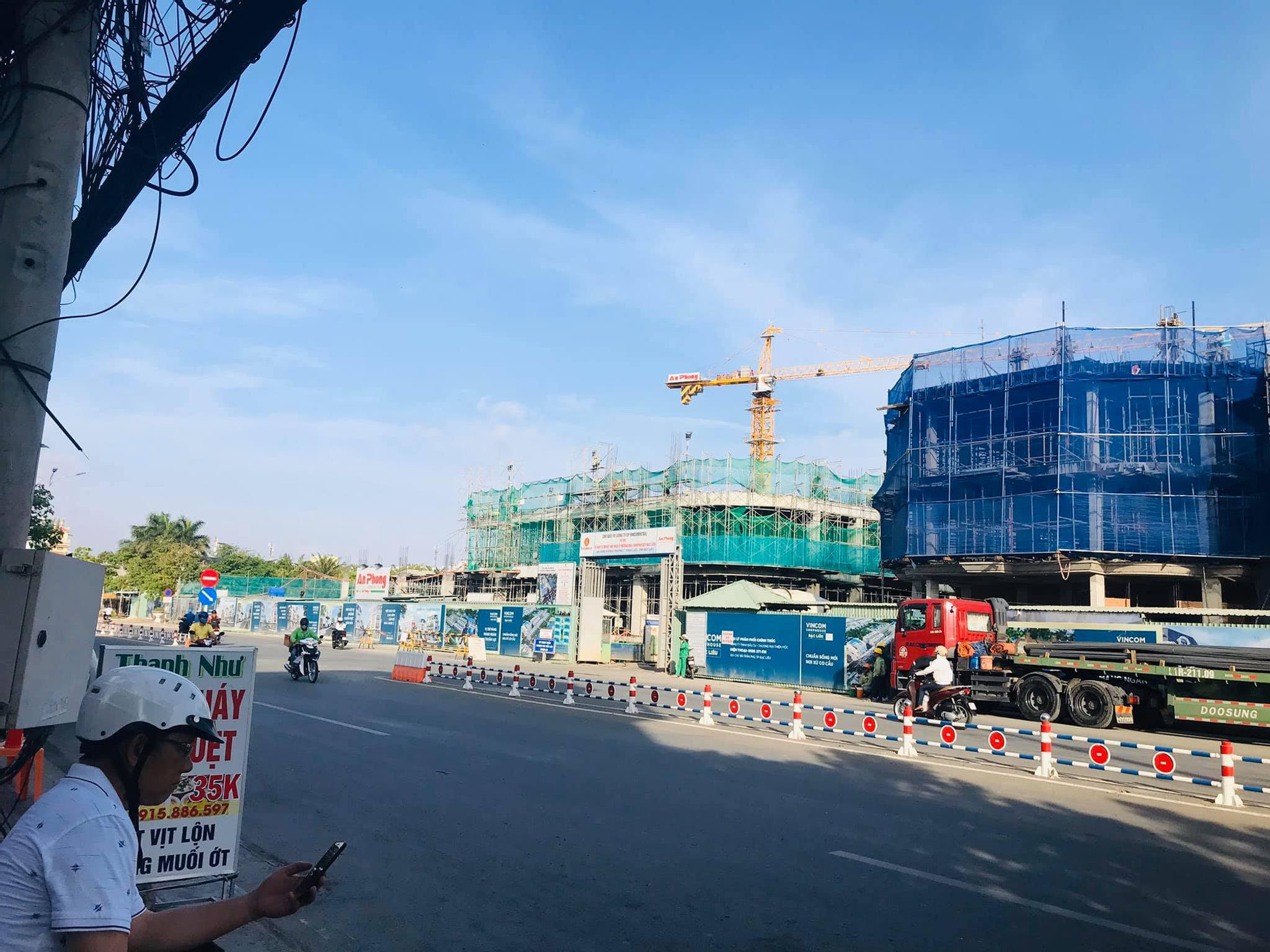 Vincom Bạc Liêu - Dự án Vincom Shophouse Bạc Liêu, Trần Phú, Bạc Liêu