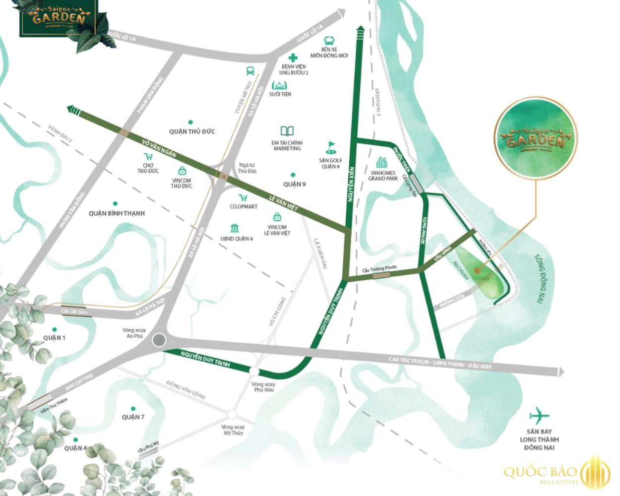 Biệt thự vườn Hưng Thịnh quận 9 - Bảng giá chủ đầu tư Hưng Thịnh 2021
