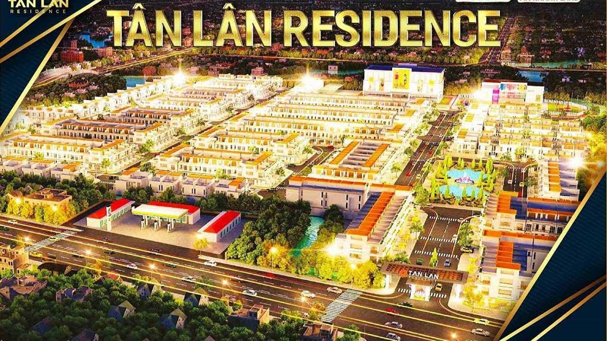 Dự án Tân Lân Residence Cần Đước Long An - Bảng giá chủ đầu tư
