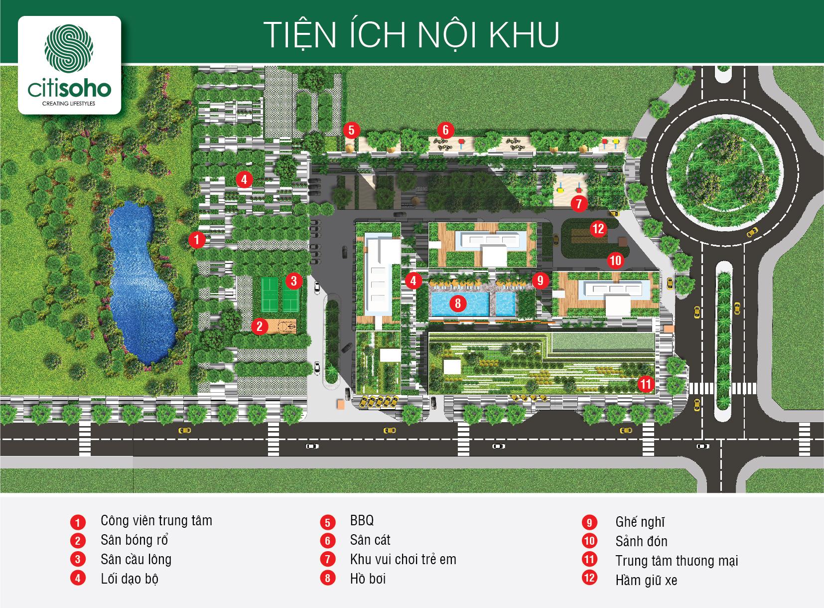 Chung cư Citisoho - Dự án căn hộ Citi Soho Kiến Á Quận 2 - Mua bán giá tốt nhất